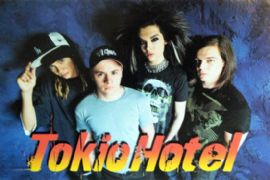Tokio Hotel - 'Group' Postcard